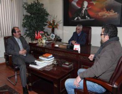 Rektör Prof. Dr. Aslan'dan Gazeteciler Cemiyeti'ne Ziyaret