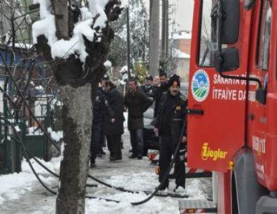 Sakarya'da Yangın Paniği