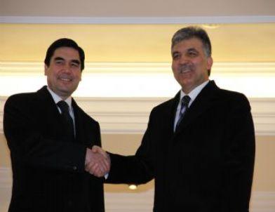 Türkmenistan Devlet Başkanı Gurbangulu Berdimuhamedov Çankaya Köşkü'nde