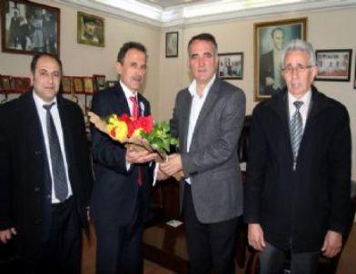 Üver'den, Başkan Sürer'e Ziyaret