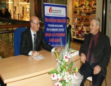Varlıbaş AVM'de Vergi Haftası Bilgilendirme Çalışması