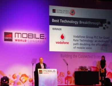 Vodafone Grubu Dünya Mobil Kongresi'nde 'En İyi Teknolojik Yenilik' Ödülü Aldı