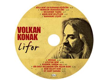Volkan Konak'ın Yeni Albümü Lifor