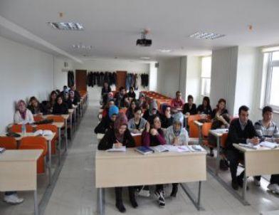 Yerköy Kaymakamı Gale'den Adalet Myo Öğrencilerine Ders
