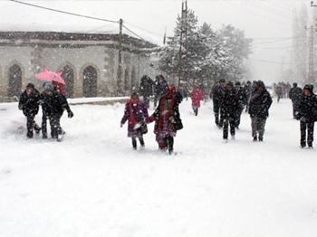 Çankırı'da Kar Tatili Uzadı