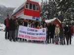 Çankırı'da Başarılı Öğrencilere Kayak Eğitimi