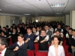EŞREF ARMAĞAN - Ziraat Bankası Balıkesir Fen Lisesi'nde Motivasyon Semineri