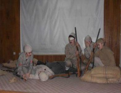 Erbaa kız kur an kursu öğrencileri asker oldu