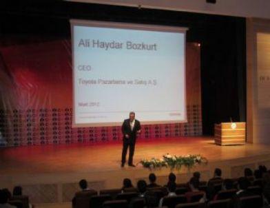 Toyata Toyota Ceo'su Ali Haydar Bozkurt'tan Liderlik Konferansı