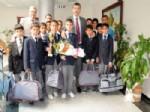 ŞABAN ERDOĞAN - Öğrenciler Vali Güvenç'i Ziyaret Etti