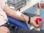 Evciler'de Öğrenci Velilerinden Kan Bağışı