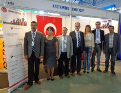 Kazakistan'da Kastamonu Üniversitesi Tanıtıldı