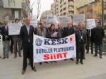 GÜLHAN TEKİN - KESK 'ten Sendika Kanunu Yasa Tasarısına Tepki