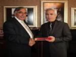 ALI KUL - Oltu Belediye Başkanı Ziyrek, Bursa'da İlçe Belediye Başkanlarını Ziyaret Etti