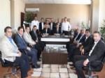 DEMIRŞEYH - Ak Parti Çorum İl Başkanı Ceylan'a Sungurlu Teşkilatı'ndan Kutlama Ziyareti