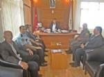 Uğurludağ Kaymakamı Şeker'den Başkan İpek'e Ziyaret