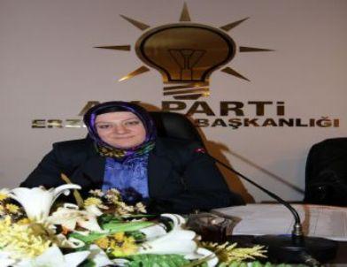AK Partı Erzurum Kadın Kolları Ankara Yolcusu
