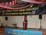 FAIK OKTAY SÖZER - İspir Hamza Polat Meslek Yüksek Okulu'nda Mezuniyet Heyecanı