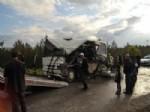 Uşak'ta Trafik Kazası 18 Yaralı