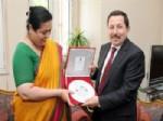 Hindistan Büyükelçisi Afyon'a Hayran Kaldı