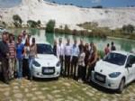İSMAIL SOYKAN - Renault'un Elektrikli Otomobili Fluence Z.e., Pamukkale'de Tanıtıldı