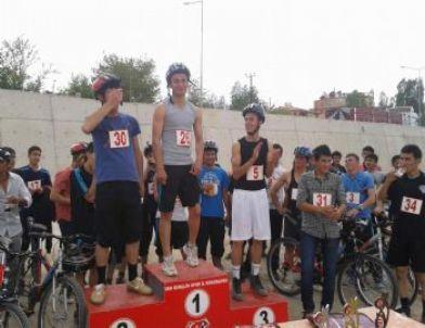 Edremit bisiklet yarışmaları sona erdi