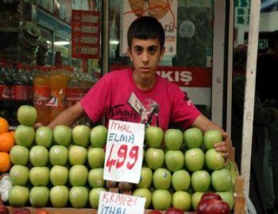 Yerli Elma Yerini Tezgahlarda İthal Elmaya Bıraktı
