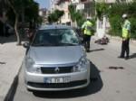 Karaman'da Motosiklet Otomobille Çarpıştı: 1 Yaralı