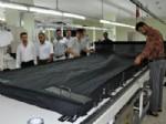 ABDURRAHIM ARSLAN - SGK Pirim Ödemelerinde Birinci Olan Tekstil Fabrikasına Tebrik Ziyareti