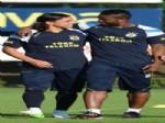 ALPER AŞÇı - Yobo Fenerbahçe Antrenmanında