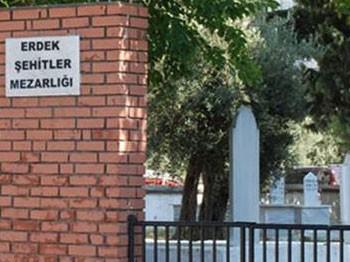 Şehitlik değil Bizans mezarlığı