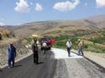 Kubbe Dağına Alternatif Yolun Pütürge Kısmı Asfaltlandı