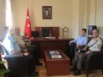 İl Garnizon Komutanından Kaymakam Gümüşçüoğlu'na Ziyaret