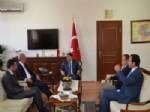 SÜLEYMAN YıLMAZ - Bitlis Valisi Yurdakul'dan Malatya Valisi Şahin'e Ziyaret