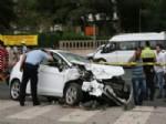 Hasta Taşıyan Ambulans Otomobille Çarpıştı: 7 Yaralı