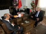 ALI ÖMEROĞLU - Milletvekili Erdoğan, Kaymakam Çelik'i Ziyaret Etti