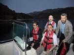 Vali Başköy'den Obruk Barajı'nda Tekne Turu