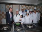 NUH ÇIMENTO - Başkan Doğan İş Okulunda Öğrenciler İle Buluştu