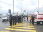 CENGIZ CINDEMIR - Hasta Taşıyan Ambulans Kaza Yaptı: 2 Yaralı