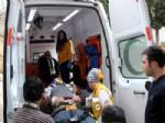 ÜMIT AKKUŞ - Gaziantep'te Trafik Kazası: 2 Yaralı