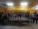 AHMEDI HANI - Doğubayazıt'ta Yıldızlar Masa Tenis Turnuvası