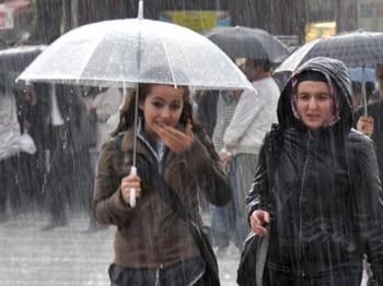Meteoroloji 14 il için şiddetli yağış uyarısında bulundu