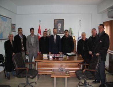 Alaplı Muhtarlar Derneği Başkanı Ahmet Uysal'dan Ziyaretler
