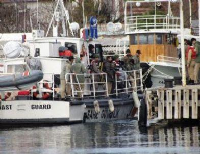 Ayvalık'ta 56 Kaçak Göçmen Yakalandı