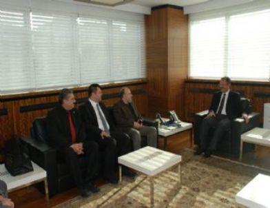 Başkan Özhaseki'ye Ziyaretler