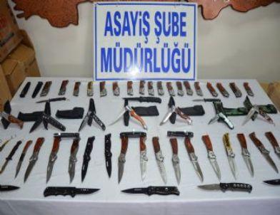 Bıçaklı Kavga Sayısı Arttı, Polis Operasyon Düzenledi: 3 Gözaltı