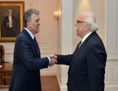 Cumhurbaşkanı Gül, Milli Eğitim Bakanı Avcı'yı Kabul Etti