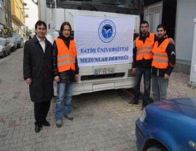 Fatih Üniversitesi Mezunlarından Suriye'ye Anlamlı Yardım