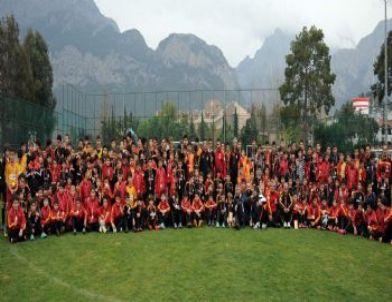 Galatasaray Futbol Okulları Antalya Kampı  Tamamlandı