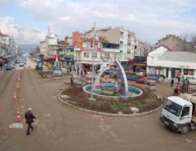 Gönen'de Baklavalı Cadde Açılışı
